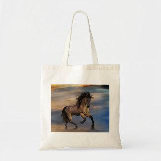 Cosmic .. wild stallion tote bag