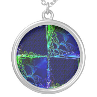 Cosmic Windowpane Necklaces