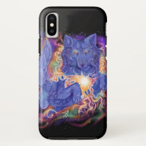 Cosmic Wolf iPhone X Case