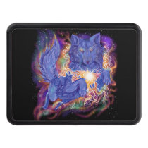 Cosmic Wolf Hitch Cover