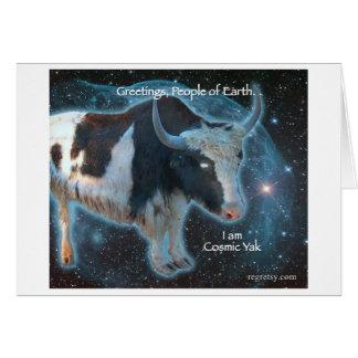 Cosmic Yak Card
