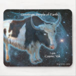 Cosmic Yak Mouse Pad