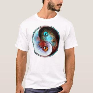 Cosmic yin yang(front) T-Shirt
