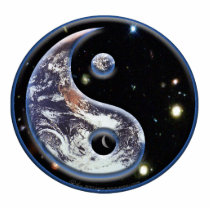 Cosmic Yin Yang Statuette