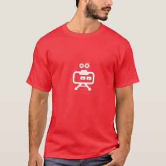Cosmicity Logobot Red T T-Shirt