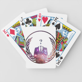 Cósmico Anon Baraja Cartas De Poker