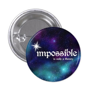 cósmico-inspiración-botones pin redondo de 1 pulgada