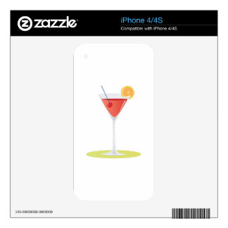 Cosmo Drink iPhone 4 Decal