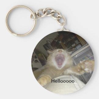 cosmo lion yawn, Hellooooo Keychain