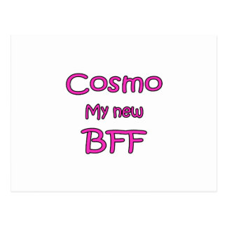 Cosmo My New BFF Postcard