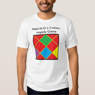 Cosmo-nopoly Game Tee