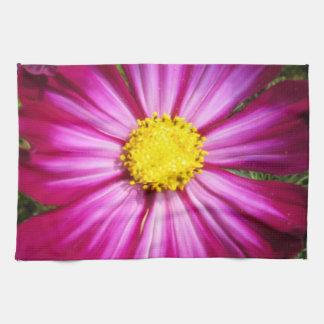 Cosmo rosado brillante toalla