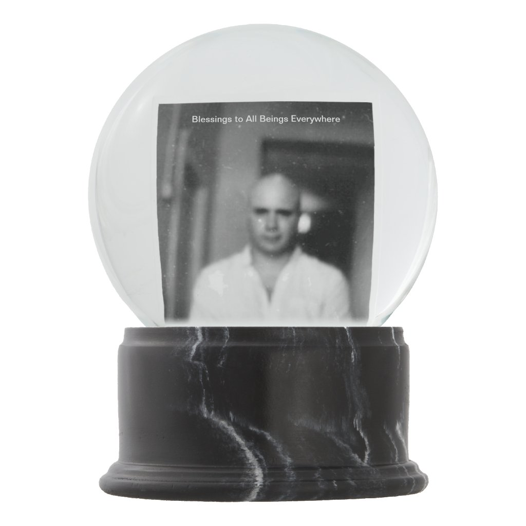 Cosmo Street Blessings Snow Globe