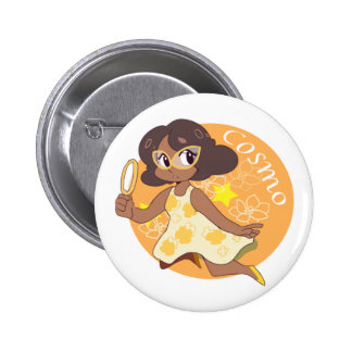 Cosmo The Space Detective Pinback Button