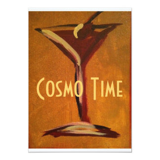 Cosmo Time Invitations