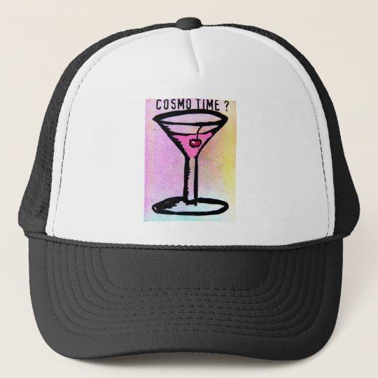 COSMO TIME PASTEL SKETCH by Jill Trucker Hat