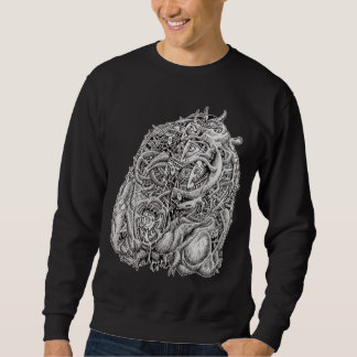 Cosmographic Head, by Brian Benson Sweatshirt
