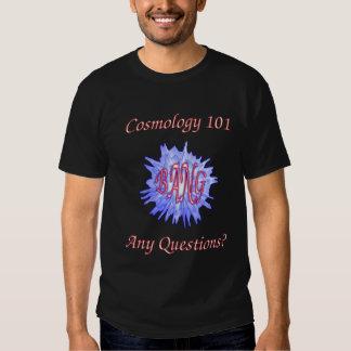 Cosmología 101 camisas