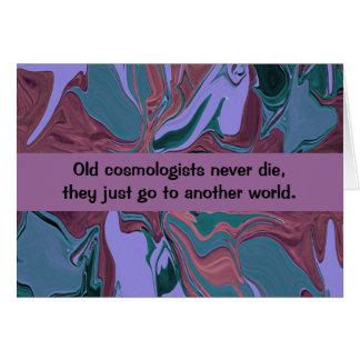 cosmologist humor card