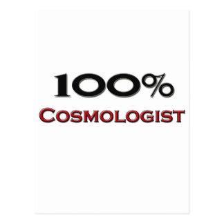 Cosmólogo del 100 por ciento postal