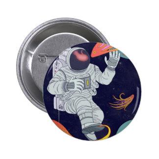 Cosmonaut 2 Inch Round Button