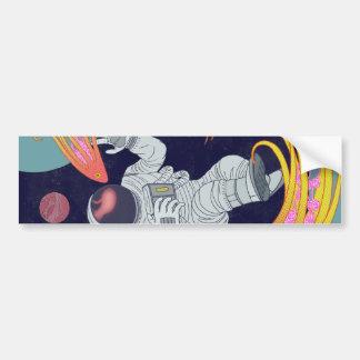 Cosmonaut Bumper Sticker