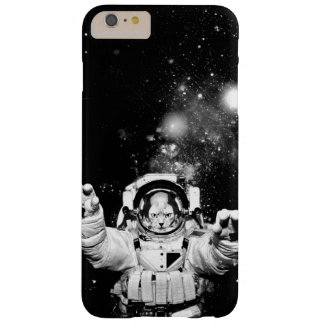 Cosmonaut Cat Barely There iPhone 6 Plus Case