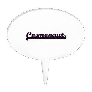 Cosmonaut Classic Job Design Cake Picks
