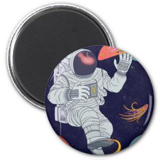 Cosmonaut Magnet