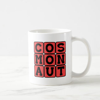 Cosmonaut, Soviet Astronaut Coffee Mug