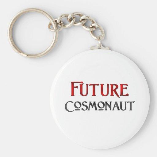 Cosmonauta futuro llaveros personalizados