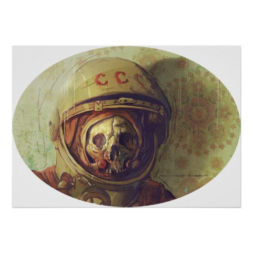 Cosmonauta Poster