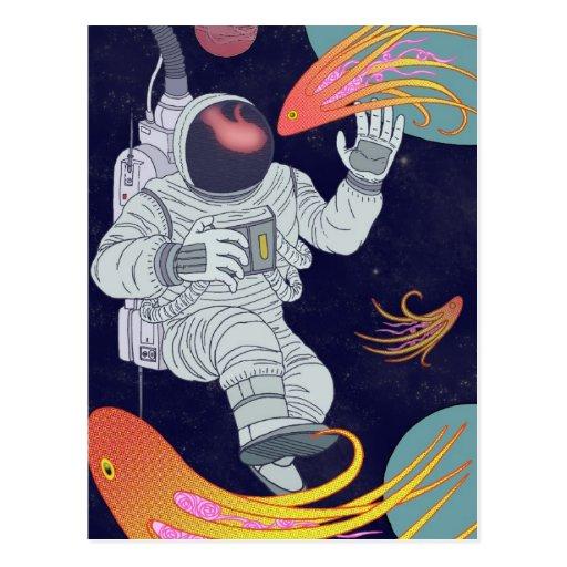 Cosmonauta Tarjeta Postal