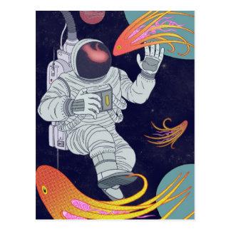 Cosmonauta Tarjetas Postales