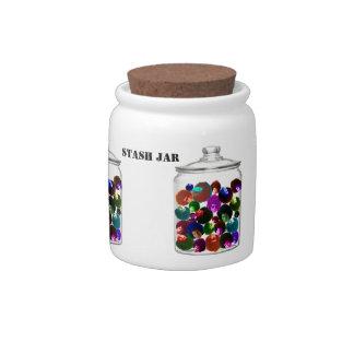 Cosmonauts Stash Jar Candy Jars