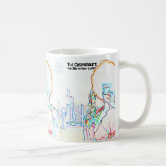 Cosmonauts Take Me to Your Leader Mug
