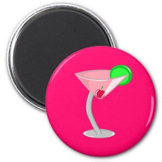 Cosmopolitan 2 Inch Round Magnet
