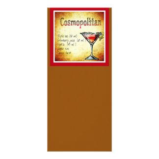 cosmopolitan-854409 COSMOPOLITAN  RECIPE ALCOHOLIC Rack Card