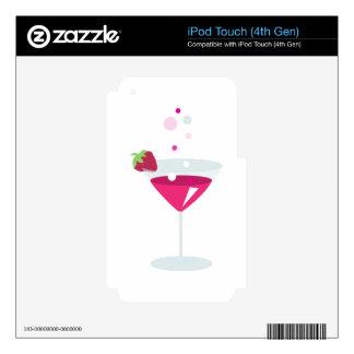 Cosmopolitan Drink iPod Touch 4G Skin