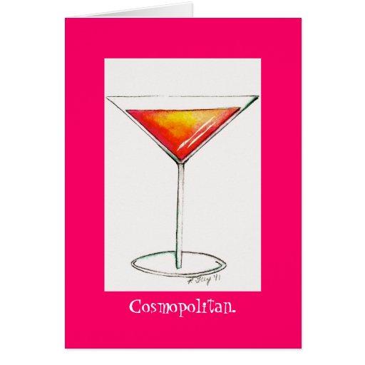 Cosmopolitan Greeting Cards