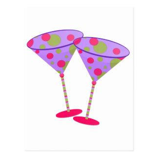 Cosmopolitan Martini Party Time ! Postcard