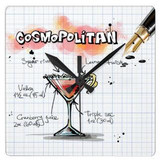 Cosmopolitan Square Wall Clock