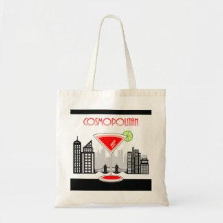 Cosmopolitan Tote Bag, Cocktail Themed