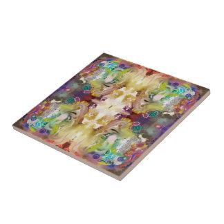 Cosmos Abstract Tile