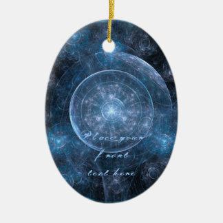Cosmos Background 001 Ceramic Ornament