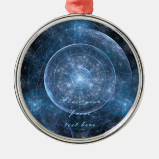 Cosmos Background 001 Metal Ornament