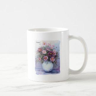 Cosmos Bouquet Coffee Mug Basic White Mug