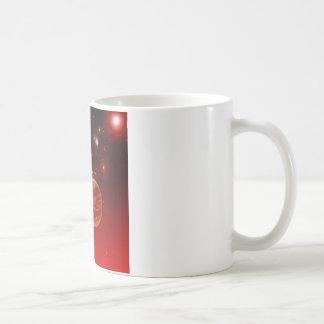 cosmos, coffee mug