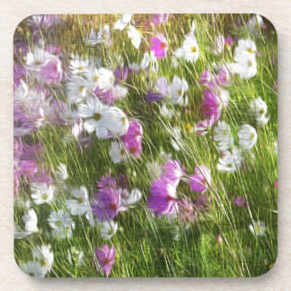 Cosmos Dancing in the Wind Gifts Coaster