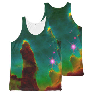 Cosmos Deep Space Pillars Of Creation All-Over-Print Tank Top